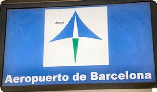 Aeropuerto Barcelona –  El Prat salidas y llegadas