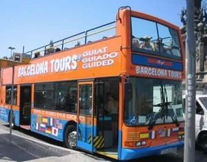 Bus Turistico en Barcelona