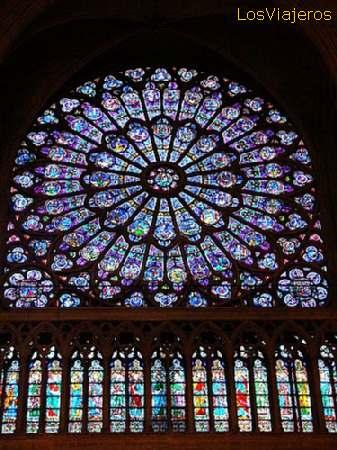 Vitrales de La Catedral de Notre Dame