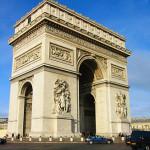 EL ARCO DE TRIUNFO DE PARIS