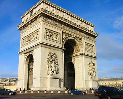 Visitar el Arco de Triunfo de Paris