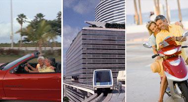Medios de transporte en Miami