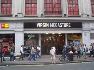 De compras en Londres Oxford Street