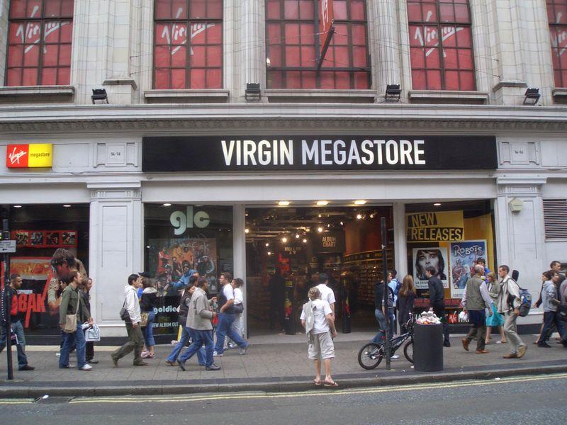 De compras en Londres