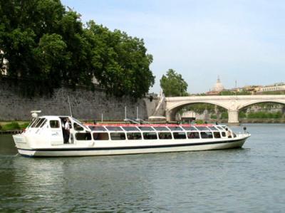 Navegar por El Río Tíber