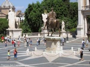 La Plaza del Campidoglio de Roma