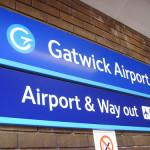 Aeropuerto Gatwick en Londres