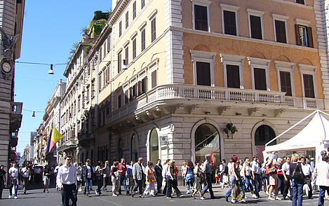 Donde ir de compras en Roma, las mejores casas de marca
