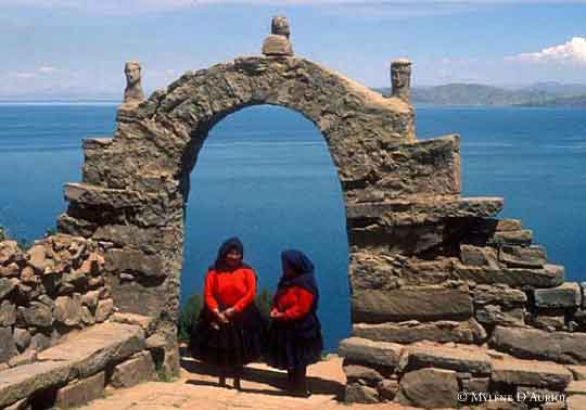 Puno y el Lago Tititaca, Peru