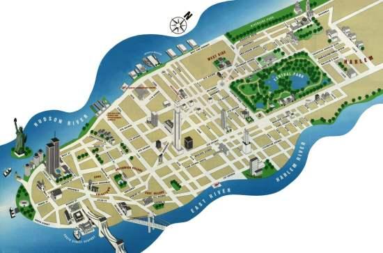 Mapa de Manhattan