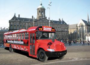 Bus Tursitico en Amsterdam