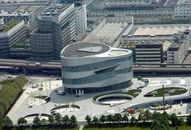 Museo Mercedes-Benz en Stuttgart