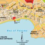Mapa de Panama|Ciudad de Panama