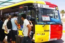 Autobuses en Ibiza