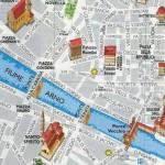 Mapa Florencia Italia