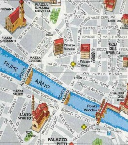 Mapa Florencia