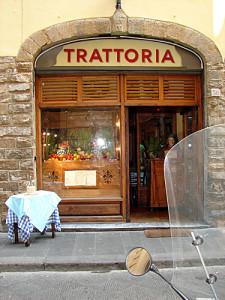 Trattoria en Florencia