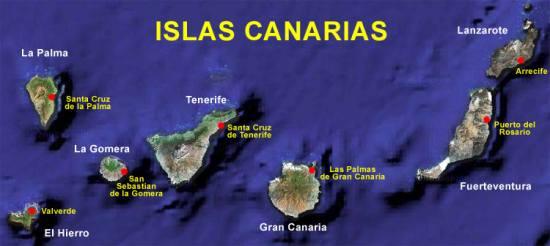 Las Islas Canaria turismo