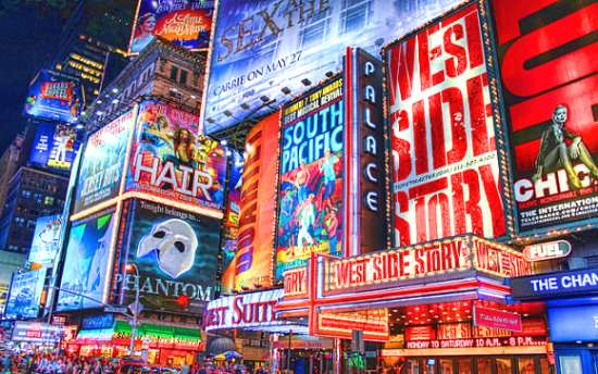 Musicales de broadway | Teatros en Broadway