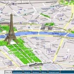 Mapa de París con atracciones turísticas