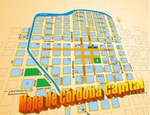 Mapa de Cordoba Capital