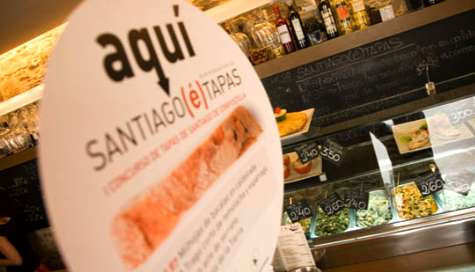 Tapas en Santiago de Compostela