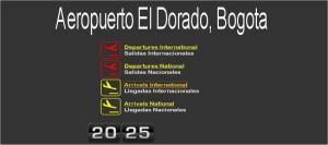 Boletos Aereos desde Aeropuerto El Dorado