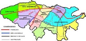 Mapa de Bogota