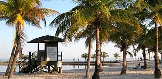 Las cinco mejores playas de Miami, Lista de todas las playas