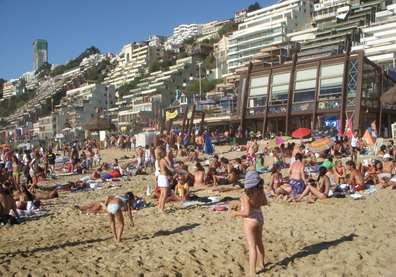 Playas de Reñaca, Viña del Mar Chile