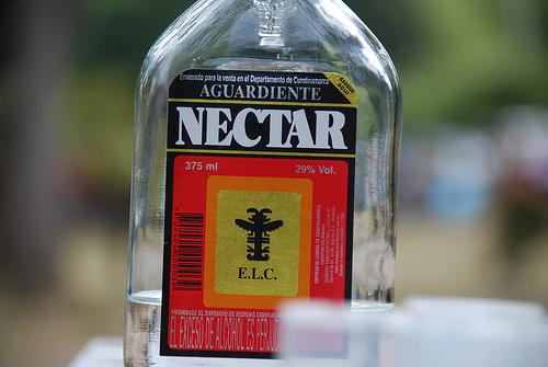 Aguardiente colombiano - Bebida tipica de Colombia