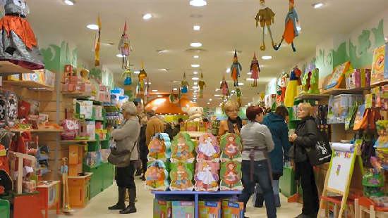 De compras en Barcelona