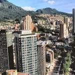Bogotá, Colombia; Vista Panoramica de Bogotá