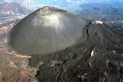 El volcán Paricutín