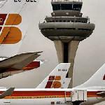 Llegadas al aeropuerto de Barajas de Madrid