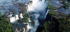 Cataratas del Iguazú en el Parque Nacional Iguazú
