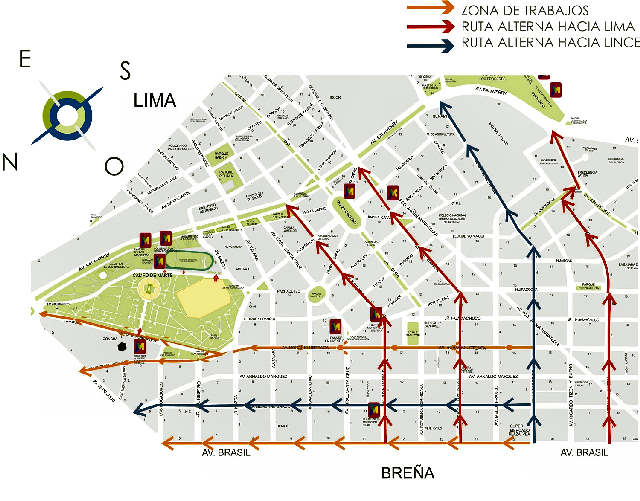 Guía de Calles de Lima / Guía de Calles de Lima Metropolitana