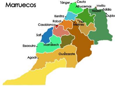 Turismo en Marruecos al Norte de África, sus costumbres y pobladores