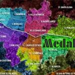 Mapa de Medellín con Calles, Avenidas y Carreras