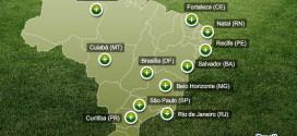 Sedes del Mundial de Fútbol 2014