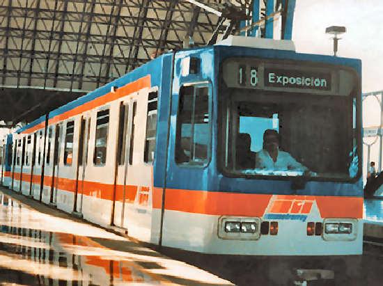 Mapa del Metro de Monterrey, Metrorey, Estaciones-Horarios-Tarifas