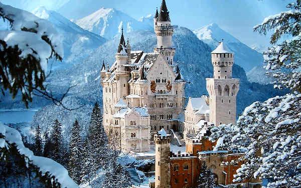 El Castillo deNeuschwanstein en Alemania