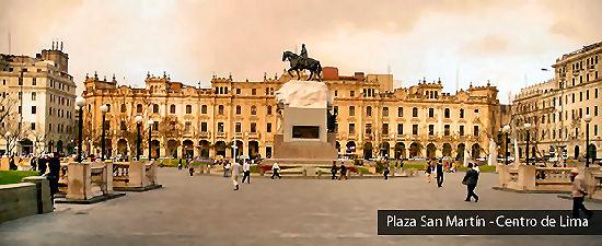 Turismo en Lima Plaza San Martin