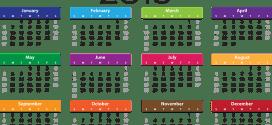 Calendario de dias festivos en Venezuela