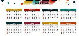 📅 Calendario de Días Festivos de Colombia 2020 📆
