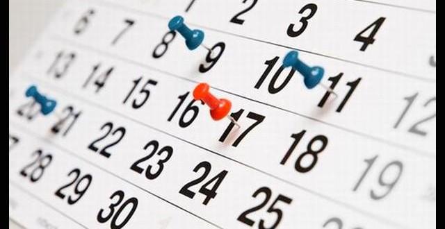Calendario Colombia 2018 con festivos