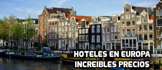Hoteles en Europa