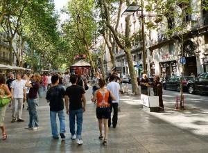 Las Ramblas Barcelona