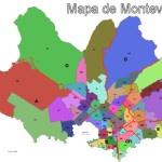 Mapa de Montevideo con direcciones, calles y avenidas