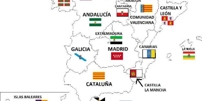 España por Provincias – Mapa de España por Provincias